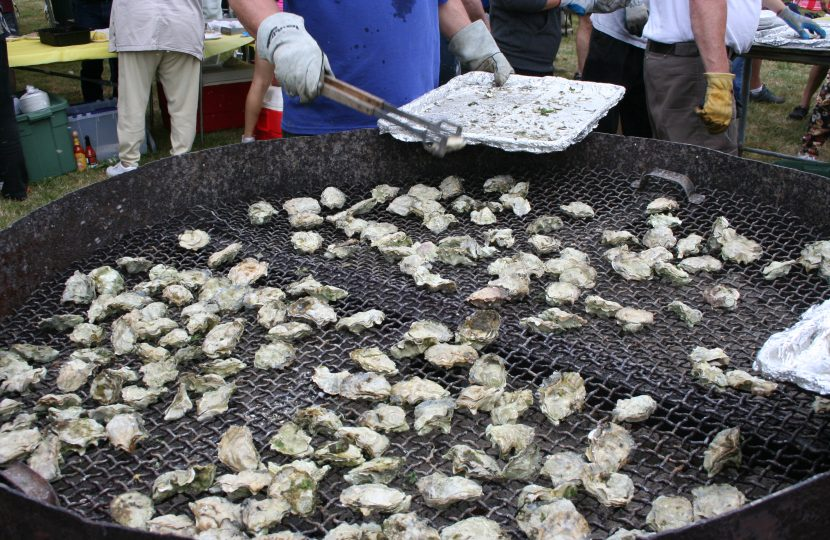 Oysters on the BBQ, Oysterville