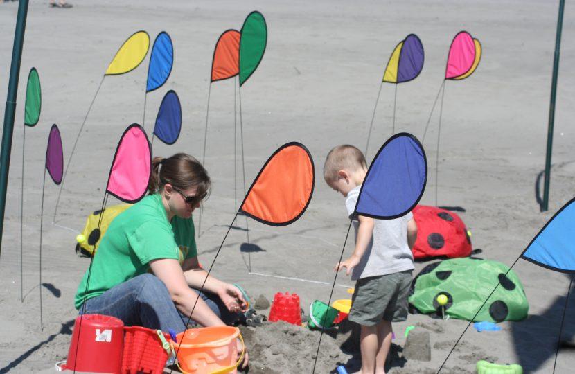WA State Int'l Kite Festival, Long Beach
