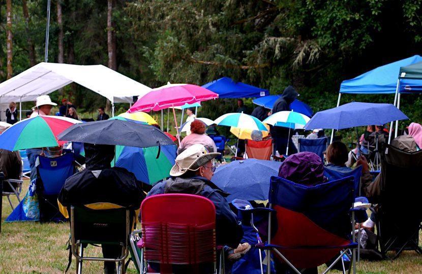 Jazz & Oysters - rain or shine!